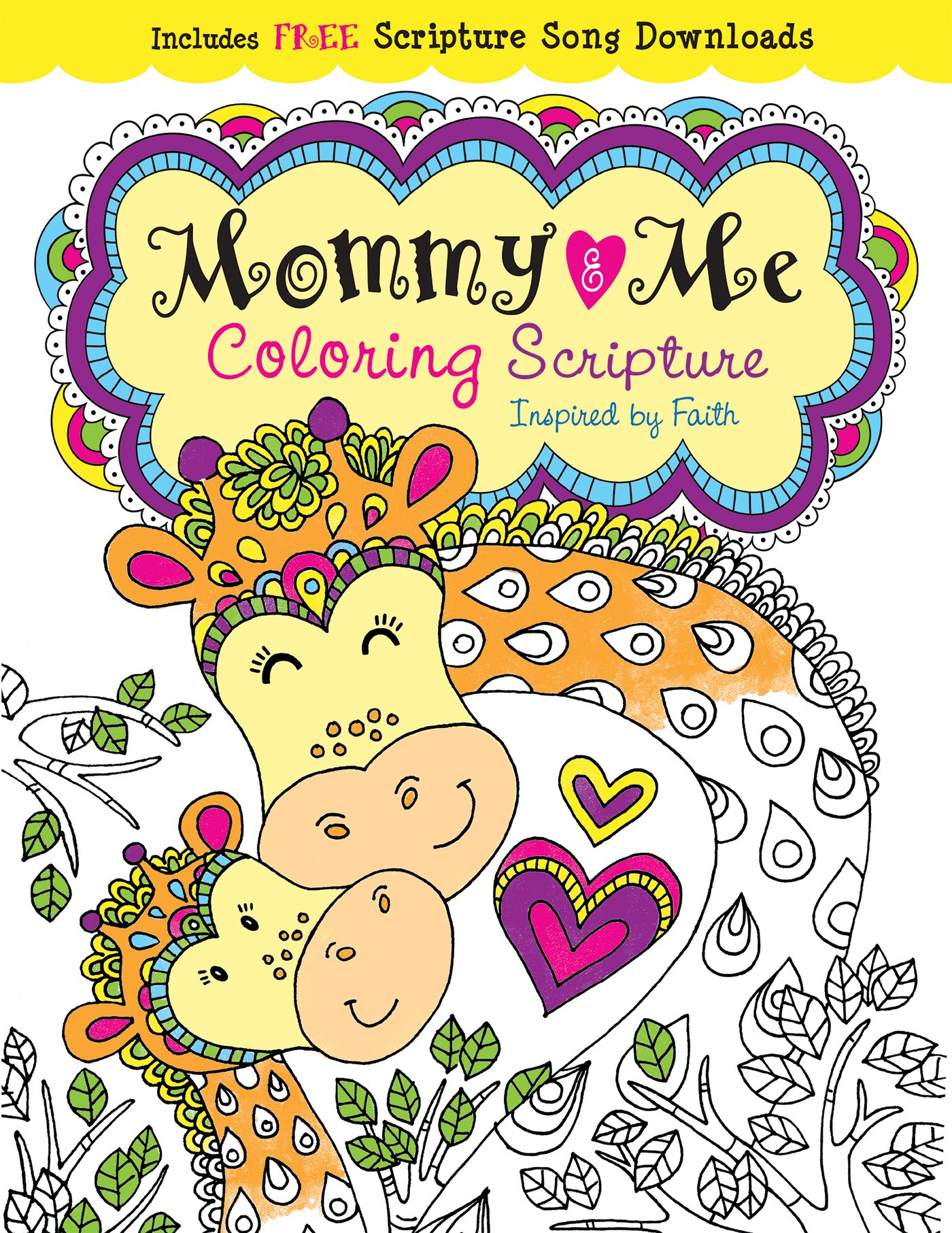 Mommy Me Coloring Scripture Creativity