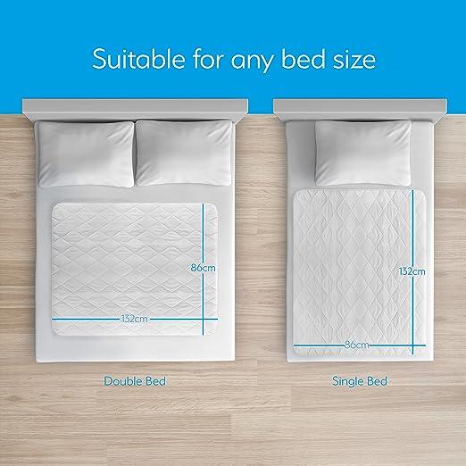 Al/èse imperm/éable de GuardedSleep Taille extra large compatible avec lits doubles et simples Drap et prot/ège-matelas lavables haut de gamme pour adultes et enfants souffrant d/'incontinence