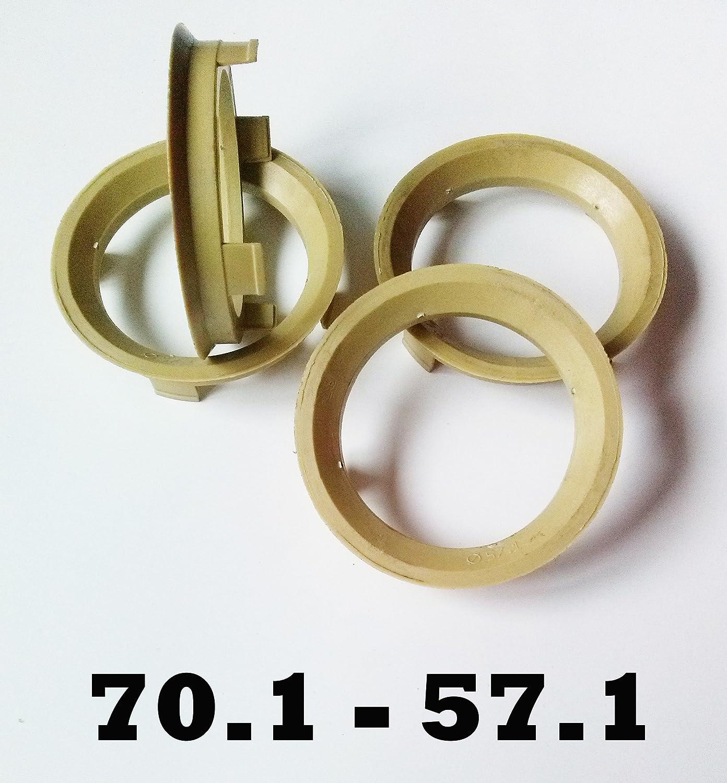 greitapigu.lt 4x Spigot Rings 72.6-57.1 mm Conversion spigot rings for alloy wheels