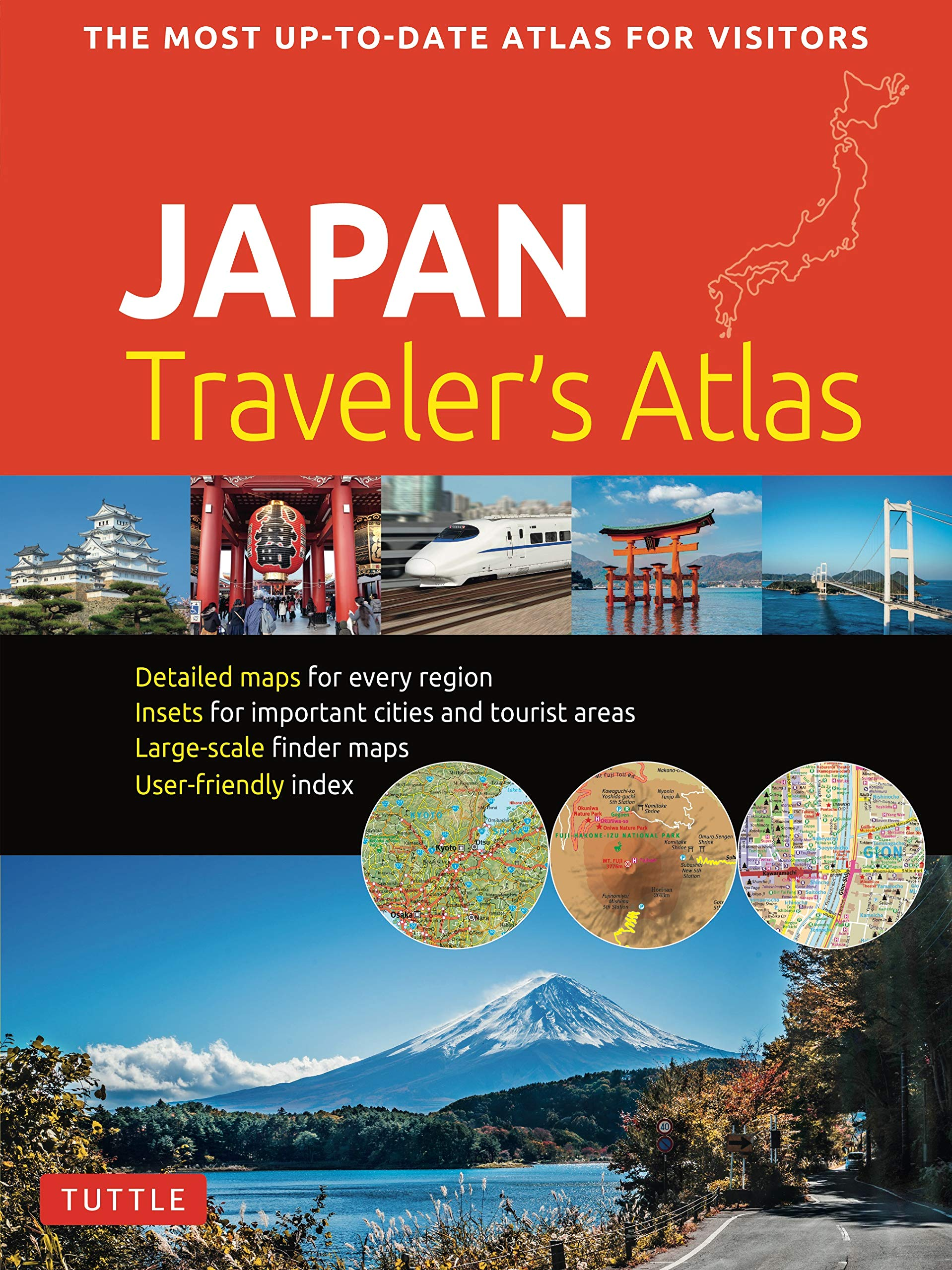 Japan Traveler's Atlas  Japan's Most Up To Date Atlas For Visitors