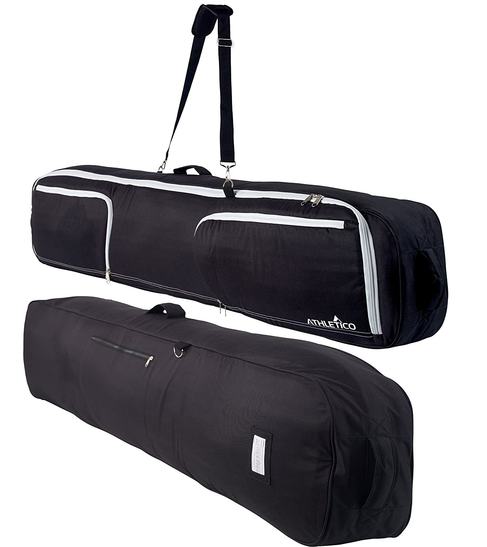 Black Athletico Maverick Padded Snowboard Bag 180cm
