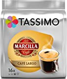 Tassimo Marcilla Café Largo - Capsulas, 16 unidades
