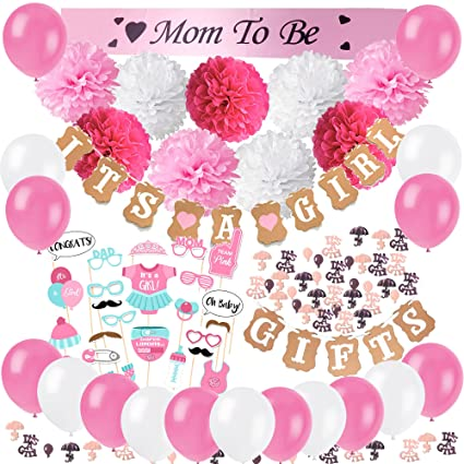 Amazon Cocodeko Baby Shower Decorations For Girls With Its A