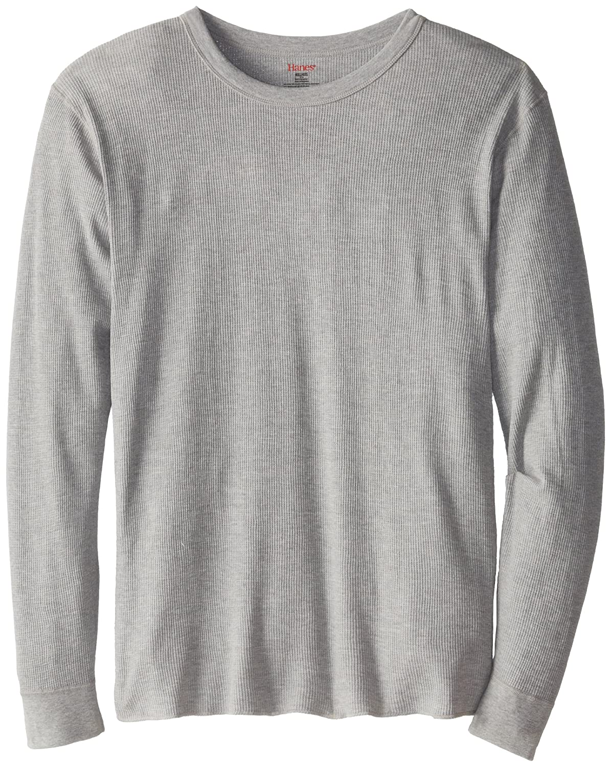 Extended Sizes Hanes Mens X-temp Thermal Longsleeve Crew Top