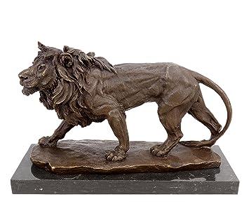 Bronze Figur Löwe Bronze Metallobjekte