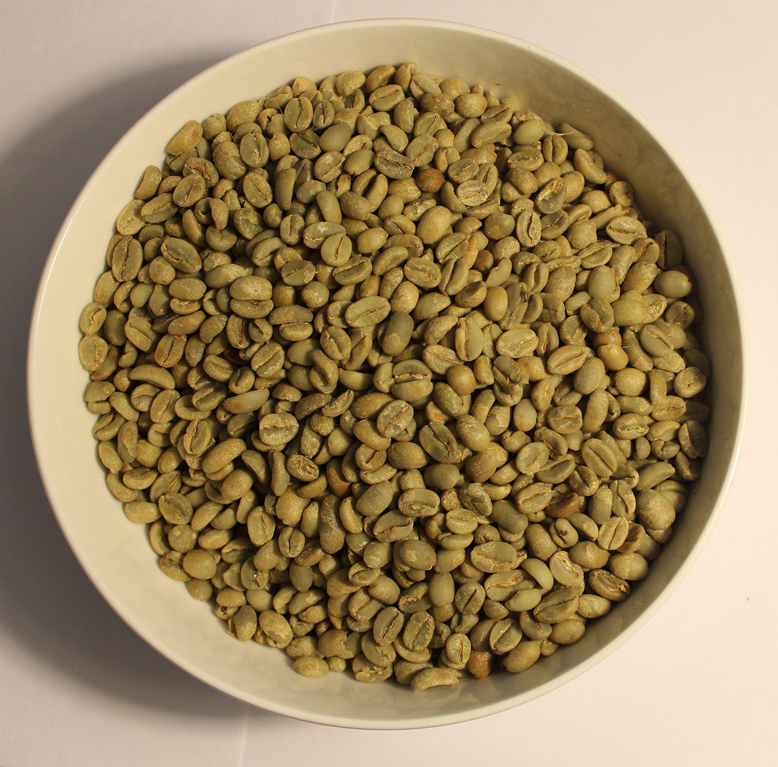 Ethiopia Yirgacheffe - Natural, Kochere Chelelektu - top Grade 1, Green (Unroasted) Coffee Beans, (18 Pounds)