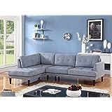 Amazon Com Us Pride Furniture Dorris Light Brown Fabric