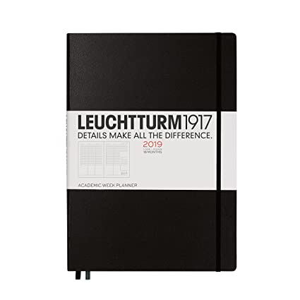 Leuchtturm1917 357901 akademis ergonómico semanal 18 meses Master ...