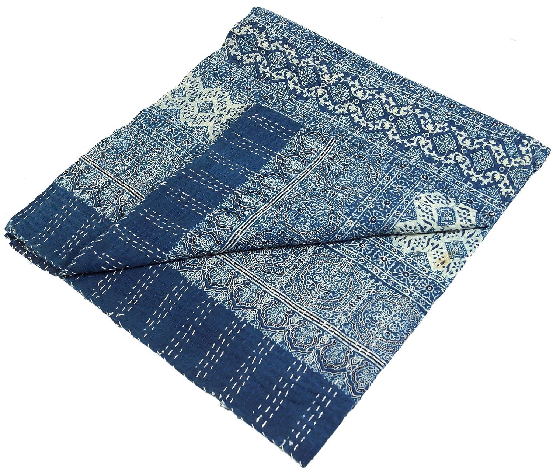 Quilt, Steppdecke, Tagesdecke Bettüberwurf, Besticktes Tuch, Indischer Bettüberwurf, Tagesdecke - Muster 27   Steppdecken, Quilts