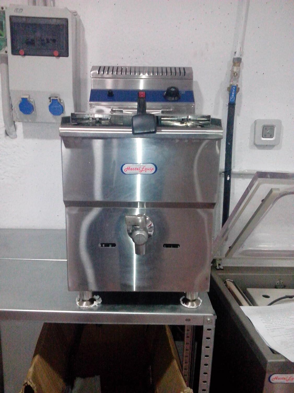 freidora industrial a gas para negocios de hosteleria 12 litros: Amazon.es: Industria, empresas y ciencia