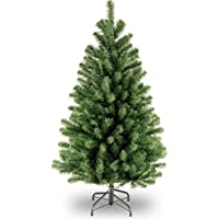 National Tree Company Artificial Christmas Tree   Includes Stand   North Valley Spruce - 4 ft