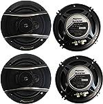 PIONEER TS-A1676R 6.5 Inch 3-Way 320 Watt Car Coaxial Stereo Speakers