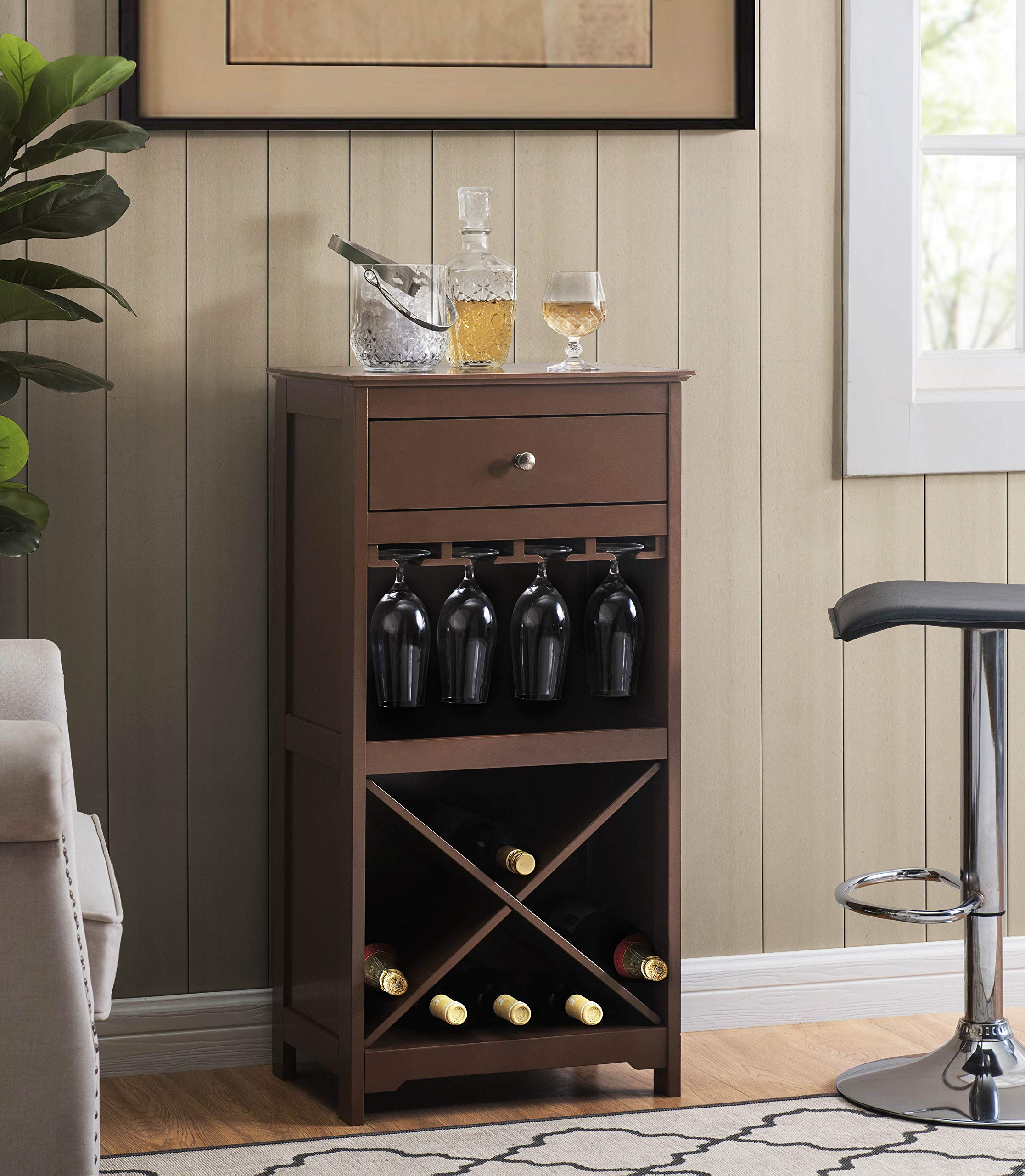 2L Lifestyle Paxton Cabinet, Brown by 2L Lifestyle