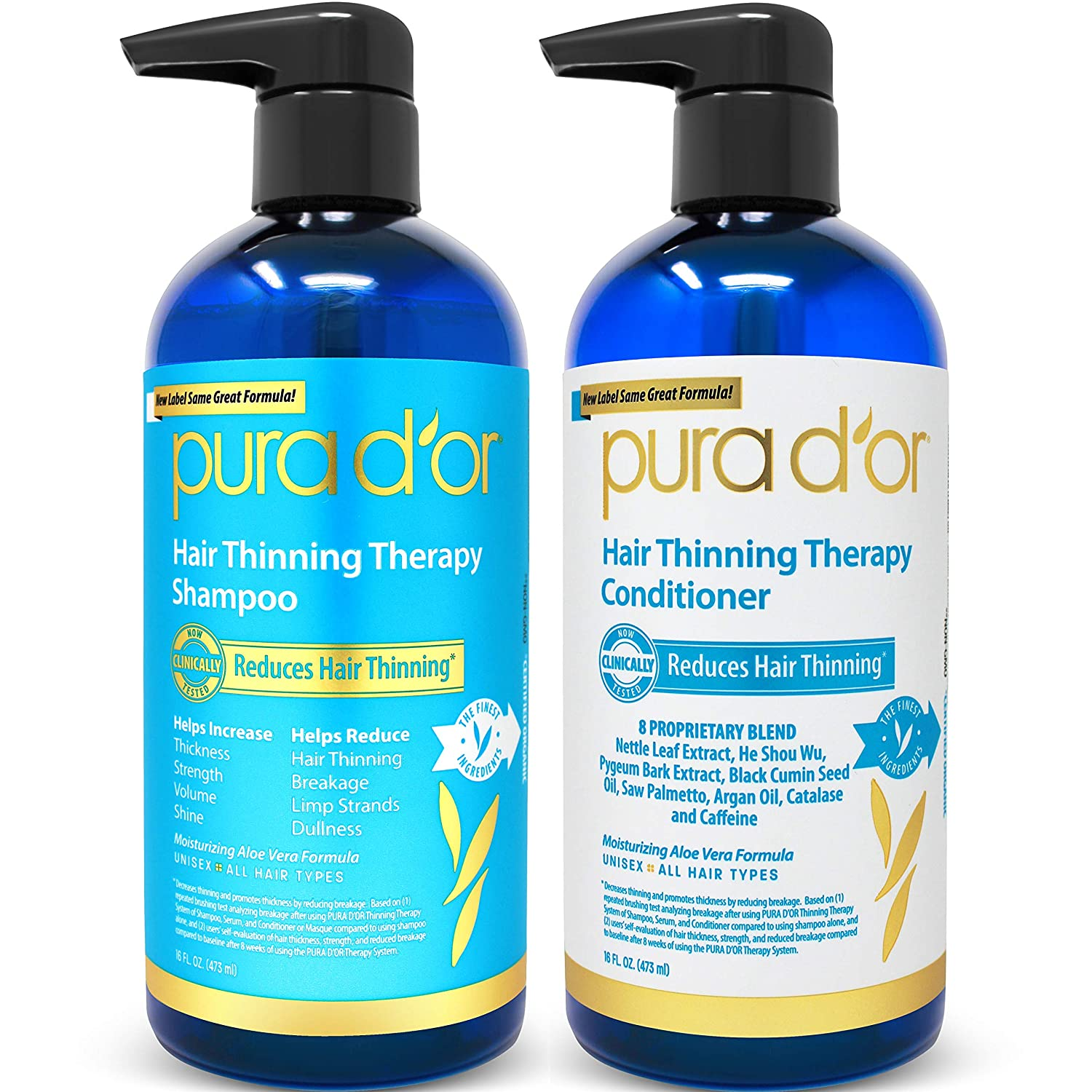 PURA D'OR Hair Thinning Therapy System