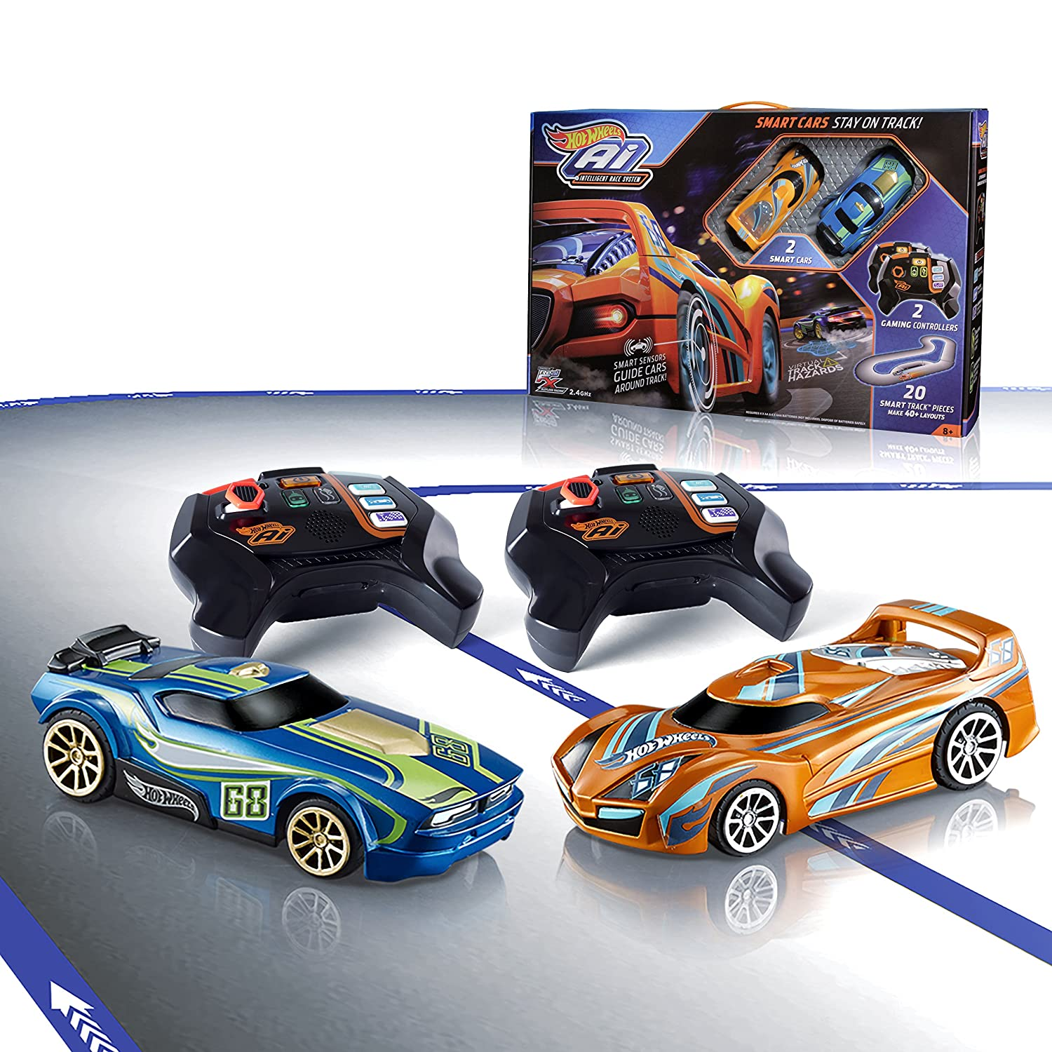 Amazon Com Hot Wheels Ai Intelligent Race System Starter Kit