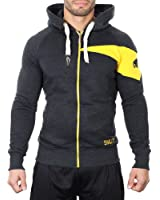 Smilodox Herren Sweatshirtjacke Slim Fit Jacke
