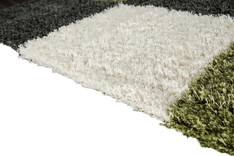 Shaggy Teppich Hochflor Langflor Teppich Wohnzimmer Teppich Beige