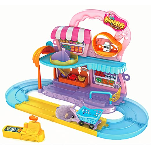 7 opinioni per Hamsters In A House 6031572- Playset Supermercato con Criceto