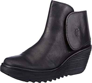 Fly London Yogi, Bottines femme Noir (Black 031), 38 EU (5