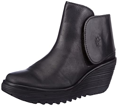 6b7ab6cd91d Fly London Yogi - Botines con cuña para mujer  Amazon.es  Zapatos y  complementos