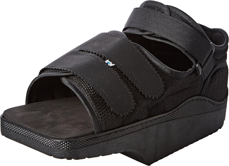 Darco Orthowedge, zapato médico / quirúrgico, reduce la presión del pie, cura el zapato, promueve una curación y regeneración más rápidas, correas ajustables, diferentes tamaños