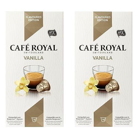 Café Royal flavo ured Vanilla, Café, Café, Cápsulas de Café Tostado, compatible