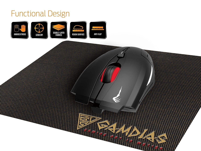 GAMDIAS ZEUS GMS 1100 Souris pour PC USB