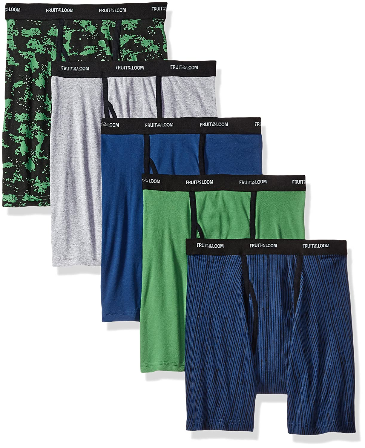 Fruit of the Loom Men's Boxer Briefs FTL-5BB4619