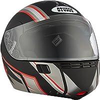 Studds Full Face Helmet Ninja 3G D4 (Matt Black N2, XL)