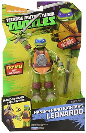 Teenage Mutant Ninja Turtles - Figura de Leonardo ...