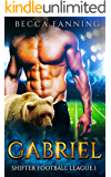 Gabriel (BBW Shifter Secret Baby Football Romance) (Shifter Football League Book 1)