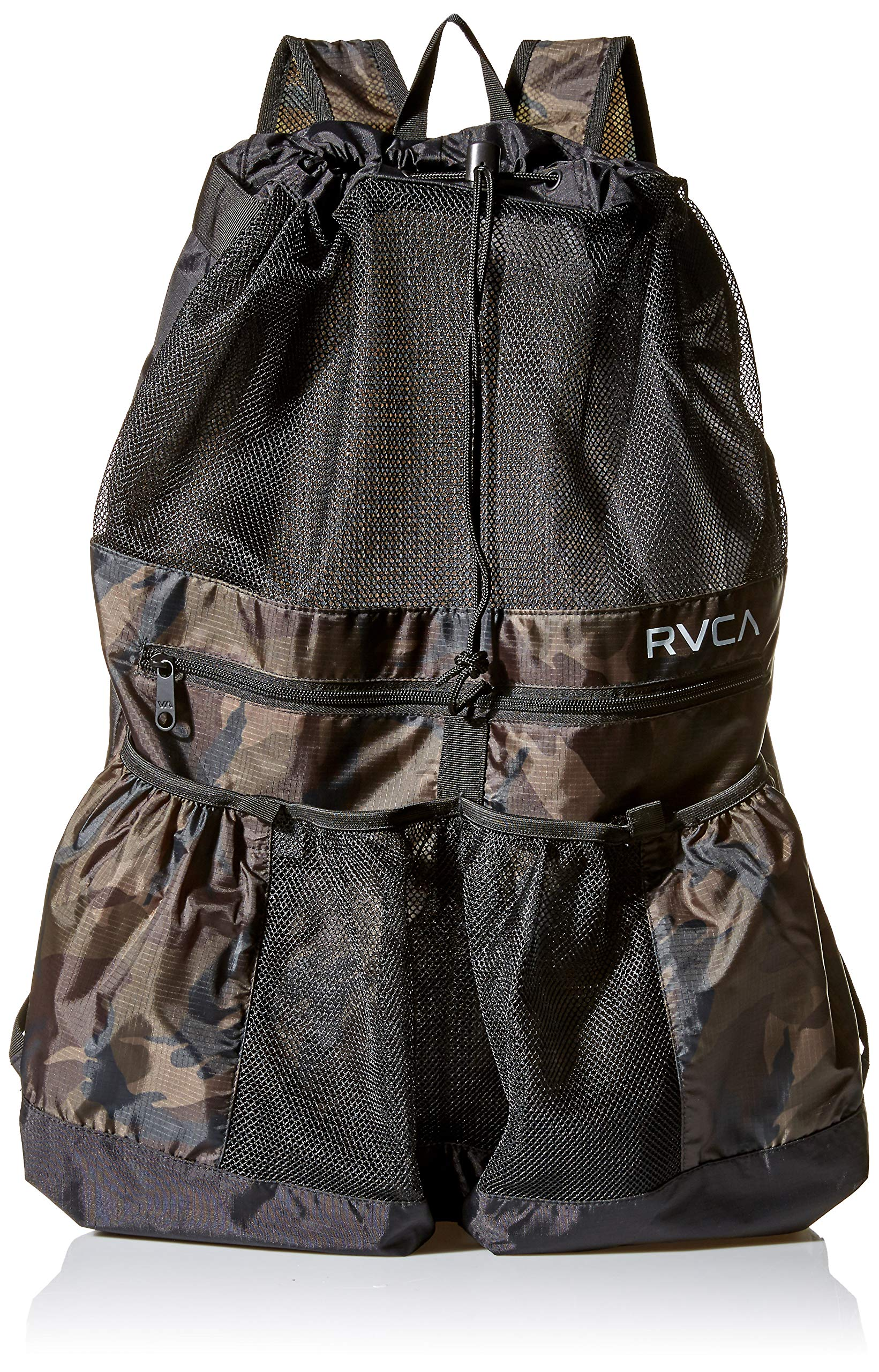 RVCA Men's Drawcord Backpack, camo, One Size