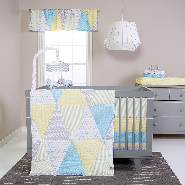 Trend Lab Triangles 3 Piece Crib Bedding Set by Trend Lab   B01BQLQA9Q