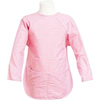FIT RITE Long-Sleeve Artist Smock for Kid & Toddler (Pink, Medium 3-4 Years) by Fit Rite