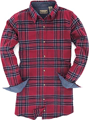 Backpacker Ladies Solid Flannel Shirt