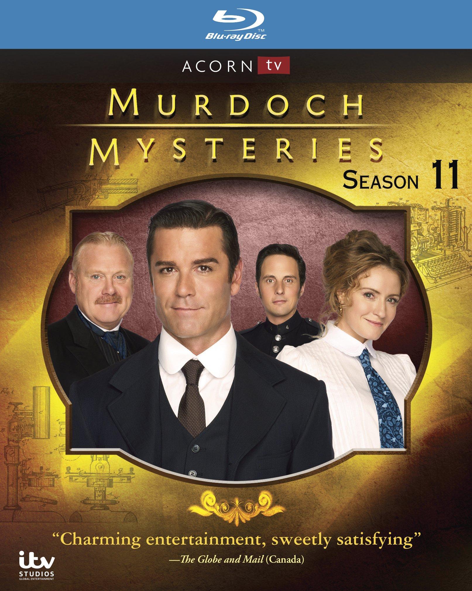 Blu-ray : Murdoch Mysteries: Series 11 (Blu-ray)