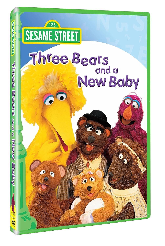 Sesame Street: Three Bears and a New Baby David Rudman Joey Mazzarino Stephanie D'Abruzzo Jennifer Barnhart