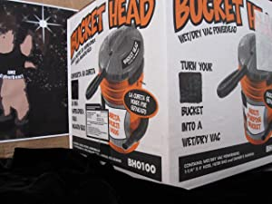 Bucket Head BH0100 Wet/Dry Vac Powerhead