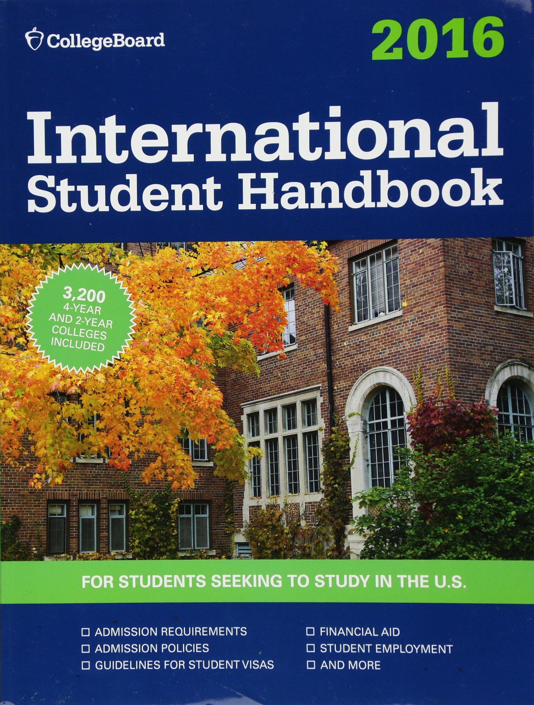 International Student Handbook 2016  International Studend Handbook