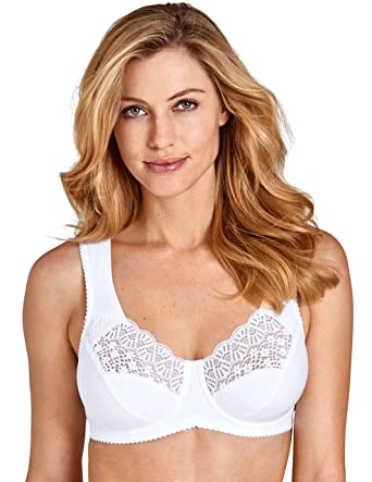 748830ea6e66d Miss Mary Of Sweden Cotton Dream Underwired Bra at Amazon Women s Clothing  store