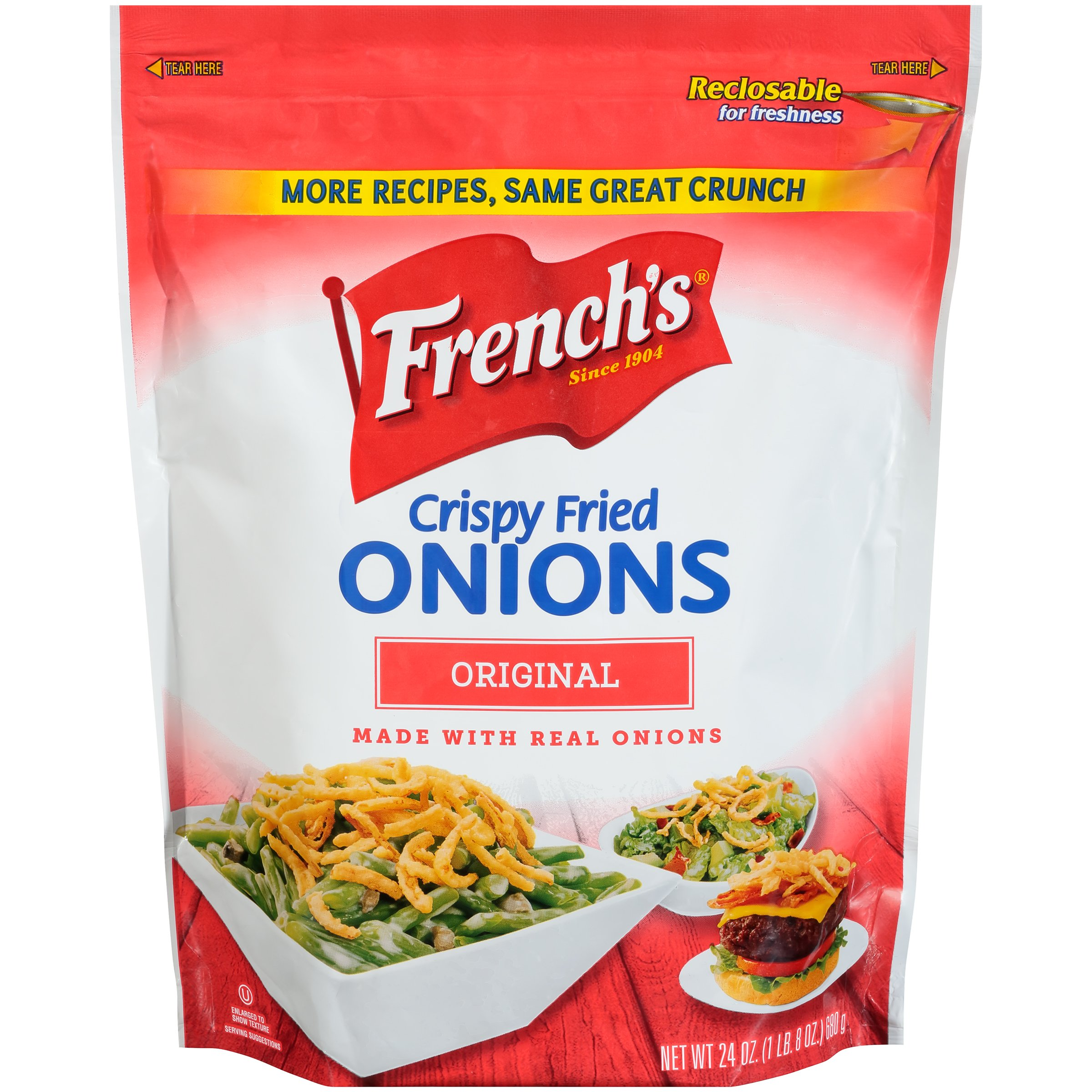 French's Crispy Fried Onions, 24 Ounce