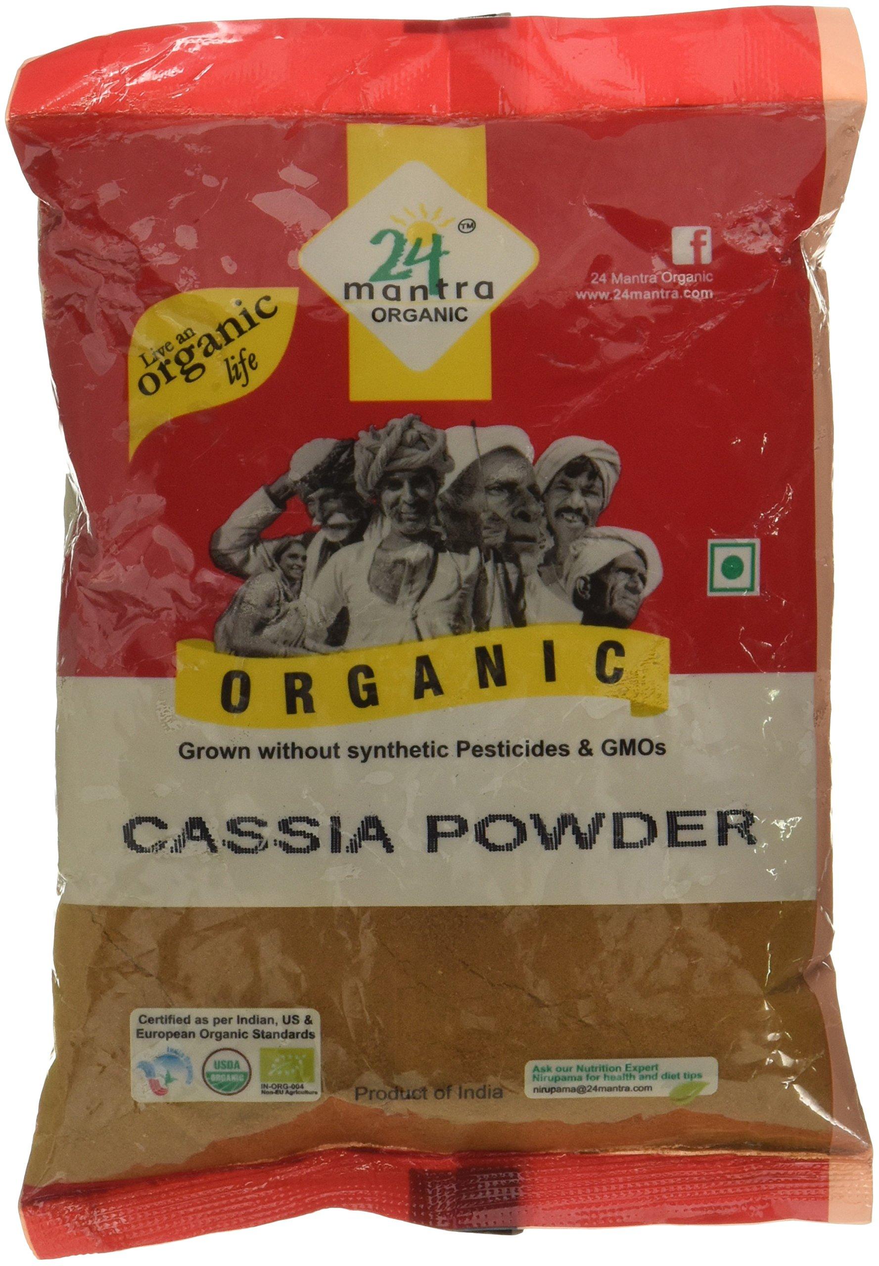 Amazon price history for 24 Mantra Organic Cassia Powder, 100g
