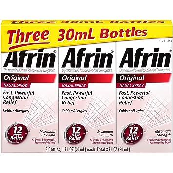 Afrin Original Nasal Spray 3 Count