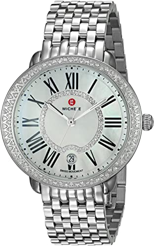 Amazon.com: Michele Serein Swiss Acero Inoxidable Reloj ...