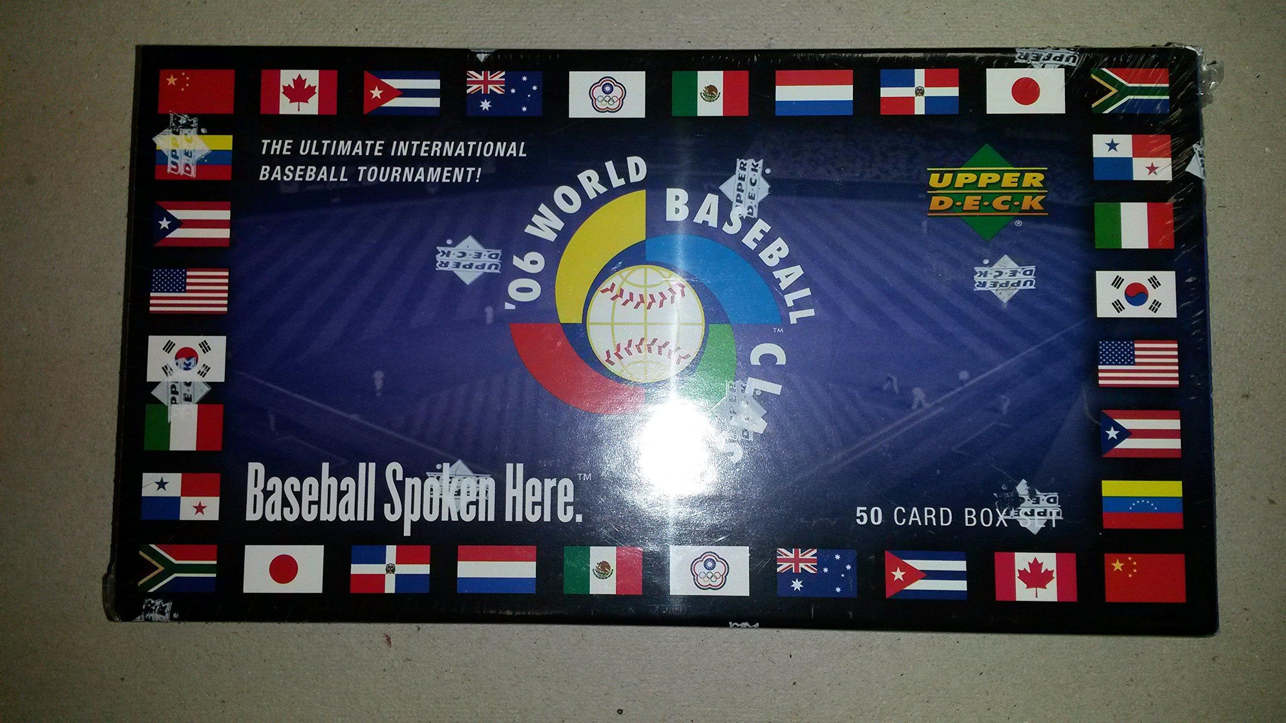 2006 Upper Deck World Baseball Classic Card Set (50)