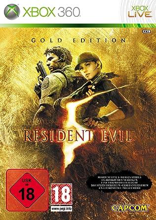 Capcom Resident Evil 5 Gold Edition - Juego (Xbox 360, Acción ...