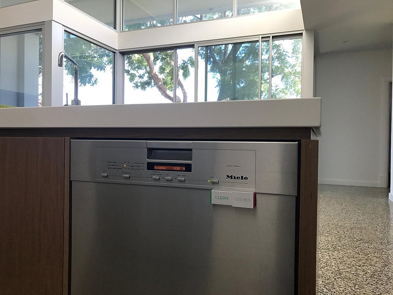 See Through Dishwasher Amazoncom Dishwasher Magnet Clean Dirty Sign Premium Kitchen