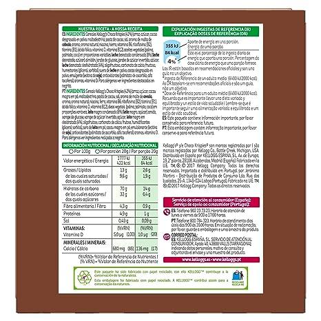 Choco Krispies - Barrita De Cereales con cacao y leche, 6 x 20 g: Amazon.es: Alimentación y bebidas