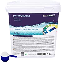 Nortembio Pool pH+ Plus 5 kg, Elevador Natural pH+ para Piscina y SPA. Mejora la Calidad del Agua, Regulador pH, Beneficioso para la Salud. Producto CE.