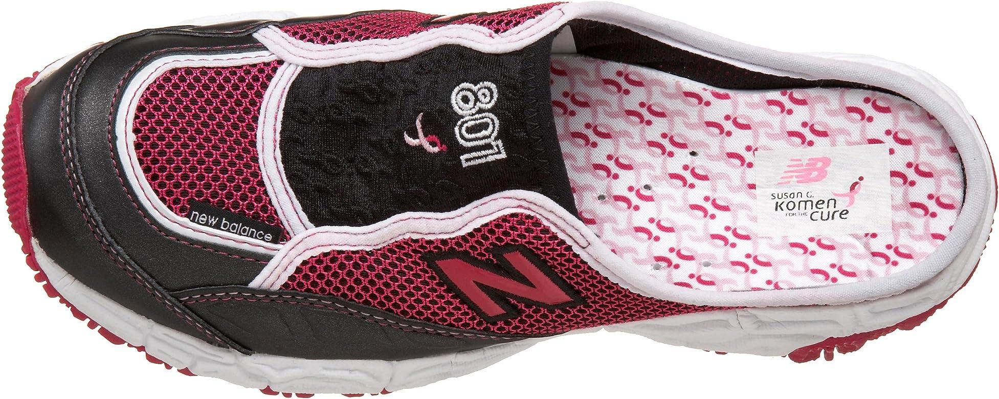 64c74ac059963 Amazon.com   New Balance Women's W801 Sneaker, Black/Pink, 5 D ...